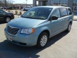 2010 Clearwater Blue Pearl Chrysler Town & Country LX #45282394