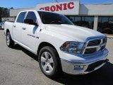 2011 Bright White Dodge Ram 1500 Big Horn Crew Cab 4x4 #45281498