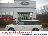 2010 White Suede Ford Flex SEL AWD #45280929