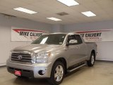 2008 Silver Sky Metallic Toyota Tundra Limited Double Cab #45282648