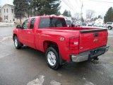 Victory Red Chevrolet Silverado 1500 in 2010