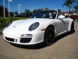 2011 Porsche 911 Carrara White