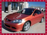 2006 Blaze Orange Metallic Acura RSX Type S Sports Coupe #45281510