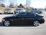 2007 Jet Black BMW 3 Series 328xi Coupe #45280949