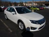 2011 White Platinum Tri-Coat Ford Fusion SEL V6 #45331231