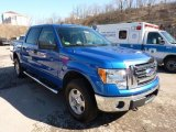 2011 Blue Flame Metallic Ford F150 XLT SuperCrew 4x4 #45331233