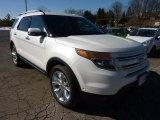 2011 White Platinum Tri-Coat Ford Explorer Limited 4WD #45331234