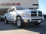 2003 Bright White Dodge Ram 1500 SLT Quad Cab 4x4 #45331884