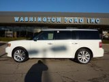 2010 White Suede Ford Flex Limited EcoBoost AWD #45331478