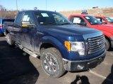 2011 Dark Blue Pearl Metallic Ford F150 XLT SuperCab 4x4 #45331244