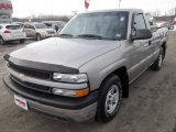 2002 Light Pewter Metallic Chevrolet Silverado 1500 LS Regular Cab #45331902