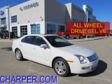 2008 White Suede Ford Fusion SEL V6 AWD #45330192