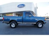 1989 Ford F150 Bright Regatta Blue Metallic