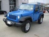 2011 Cosmos Blue Jeep Wrangler Sport S 4x4 #45331792