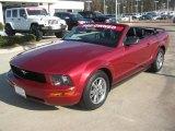 2005 Redfire Metallic Ford Mustang V6 Premium Convertible #45331799