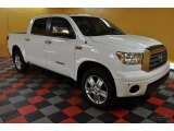 2008 Super White Toyota Tundra Limited CrewMax 4x4 #45331824