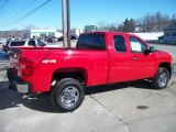 2011 Chevrolet Silverado 2500HD LS Extended Cab 4x4 Data, Info and Specs