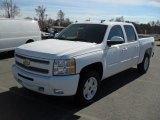 2011 Summit White Chevrolet Silverado 1500 LT Crew Cab 4x4 #45332073