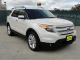2011 White Platinum Tri-Coat Ford Explorer Limited #45331360