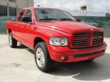 2002 Flame Red Dodge Ram 1500 Sport Quad Cab 4x4 #45331368