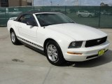 2006 Performance White Ford Mustang V6 Premium Convertible #45331371