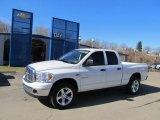 2008 Bright White Dodge Ram 1500 Big Horn Edition Quad Cab 4x4 #45331128