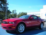 2011 Red Candy Metallic Ford Mustang V6 Premium Coupe #45331136