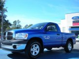 2008 Electric Blue Pearl Dodge Ram 1500 TRX Regular Cab #45331141