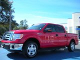 2010 Vermillion Red Ford F150 XLT SuperCrew #45331142