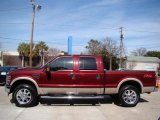 2008 Ford F250 Super Duty Dark Toreador Red