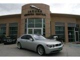 2003 Titanium Silver Metallic BMW 7 Series 745i Sedan #45332111