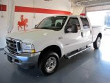 2004 Oxford White Ford F250 Super Duty FX4 Crew Cab 4x4 #45393579