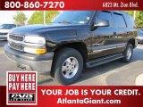 2002 Onyx Black Chevrolet Tahoe 4x4 #45396376