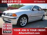 2000 Titanium Silver Metallic BMW 3 Series 328i Sedan #45396401