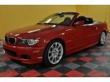 2006 Imola Red BMW 3 Series 330i Convertible #45395417