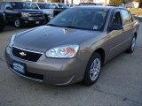 2007 Amber Bronze Metallic Chevrolet Malibu LS Sedan #45394833