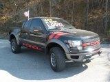 2010 Tuxedo Black Ford F150 SVT Raptor SuperCab 4x4 #45396416
