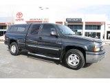 2003 Black Chevrolet Silverado 1500 Z71 Extended Cab 4x4 #45393628