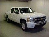 2011 Summit White Chevrolet Silverado 1500 LT Crew Cab 4x4 #45395429