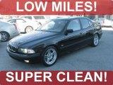 2000 Jet Black BMW 5 Series 540i Sedan #45393636