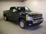 2011 Black Chevrolet Silverado 1500 LT Extended Cab #45395433