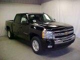 2011 Black Chevrolet Silverado 1500 LT Crew Cab #45395438