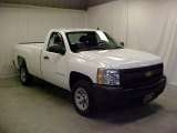 2009 Summit White Chevrolet Silverado 1500 Regular Cab #45395442