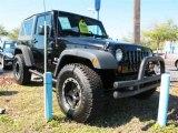 2008 Jeep Wrangler Black