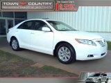 2008 Super White Toyota Camry XLE V6 #45395455