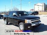 2011 Black Chevrolet Silverado 1500 LT Crew Cab 4x4 #45395386