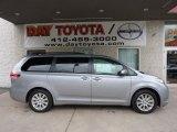 2011 Silver Sky Metallic Toyota Sienna Limited AWD #45394204