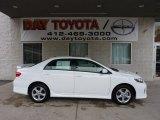 2011 Super White Toyota Corolla S #45394210