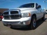 2005 Bright White Dodge Ram 1500 SLT Regular Cab #45448915