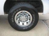 2003 Ford F250 Super Duty XL SuperCab Wheel